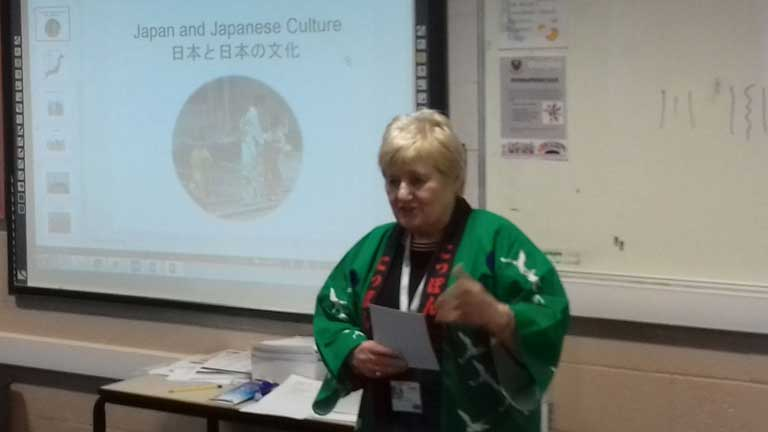 Japanese Culture Presentation, February 2018